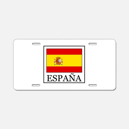 España Aluminum License Plate