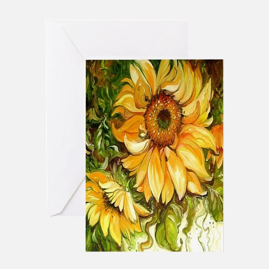 Pretty Sunflowers Greeting Cards