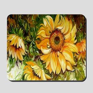 Pretty Sunflowers Mousepad