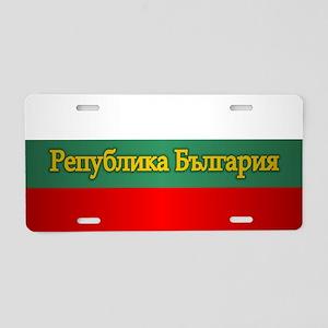 Bulgaria 3 Aluminum License Plate