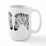 Grant's Zebra Portrait Large Mug