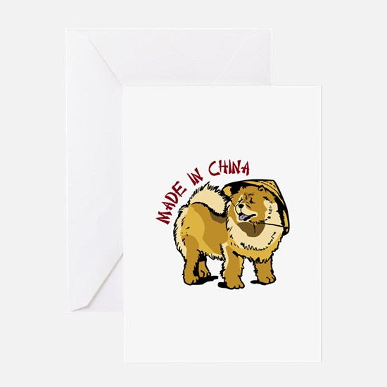 MADE IN CHINA Greeting Cards