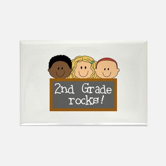 SECOND GRADE ROCKS Magnets