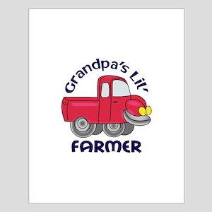 GRANDPAS LIL FARMER Posters