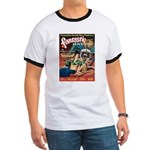 Fantastic Adventures-VINTAGE PULP MAGAZINE COVER T