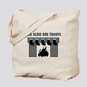 GOD BLESS OUR TROOPS! Tote Bag