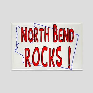 North Bend Rocks ! Rectangle Magnet