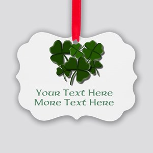 Design Your Own St. Patricks Day Item Ornament