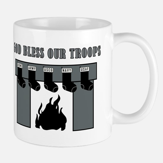 GOD BLESS OUR TROOPS! Mugs