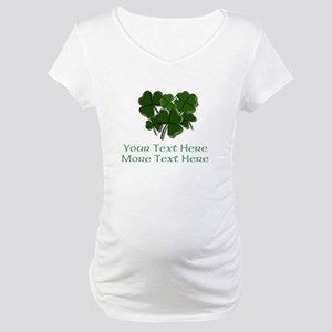 Design Your Own St. Patricks Day Item Maternity T-