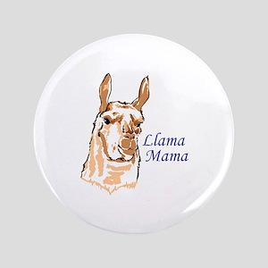 """LLAMA MAMA 3.5"""" Button"""