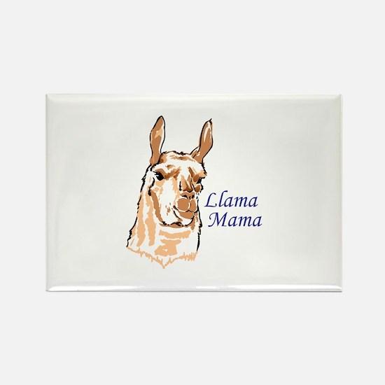 LLAMA MAMA Magnets