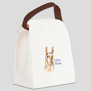 LLAMA MAMA Canvas Lunch Bag