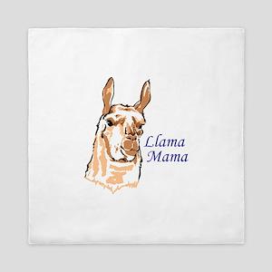 LLAMA MAMA Queen Duvet