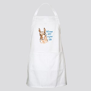 SPIT IN YOUR LIFE Apron