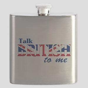 Talk British to Me Flask