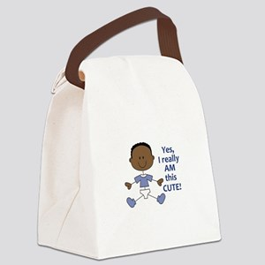 I REALLY AM THIS CUTE Canvas Lunch Bag