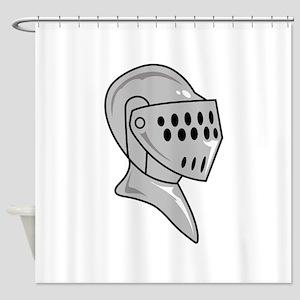 HELMET ARMOUR Shower Curtain