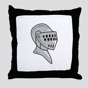 HELMET ARMOUR Throw Pillow