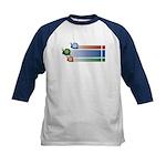 Snail Races - Kids Baseball Jersey