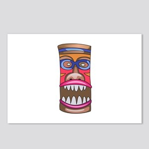 TIKI STATUE Postcards (Package of 8)