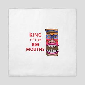 KING OF THE BIG MOUTHS Queen Duvet