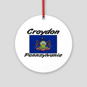 Croydon Pennsylvania Ornament (Round)