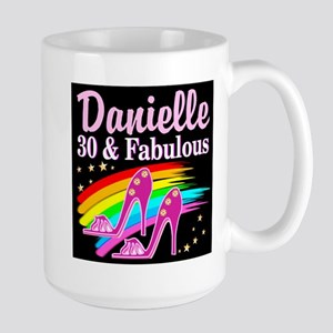 30 AND FABULOUS Large Mug