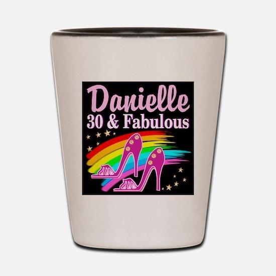 30 AND FABULOUS Shot Glass