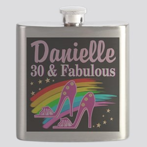 30 AND FABULOUS Flask