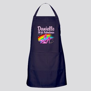 30 AND FABULOUS Apron (dark)