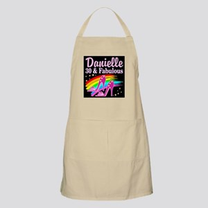 30 AND FABULOUS Apron