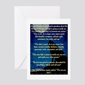 American indian navajo greeting cards cafepress cherokee lesson greeting card m4hsunfo