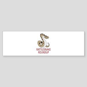 RATTLESNAKE ROUNDUP Bumper Sticker
