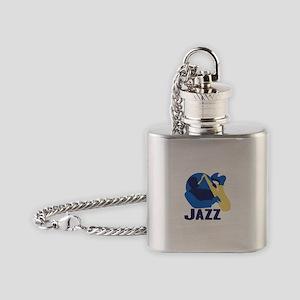 Jazz Flask Necklace