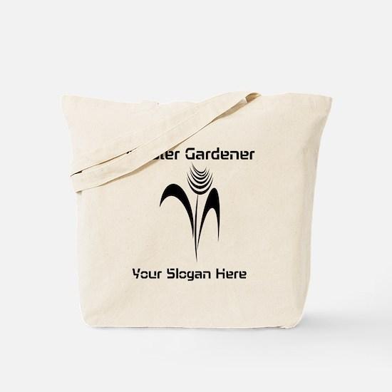 Cool Ink Art Gardener Tote Bag