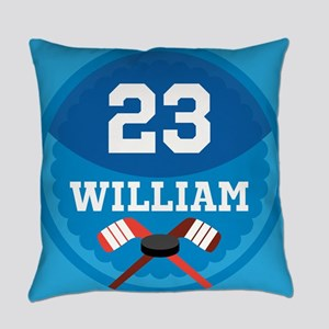 Ice Hockey Personalized Sports Everyday Pillow