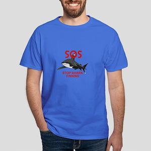 SOS STOP SHARK FINNING T-Shirt