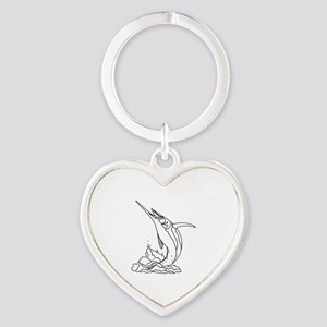 MARLIN OUT OF WATER Keychains