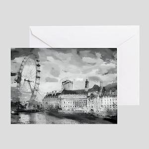 London One Greeting Card