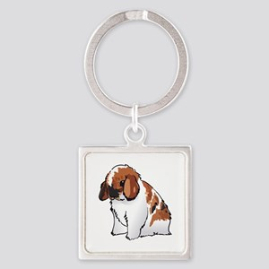 HOLLAND LOP EAR RABBIT Keychains