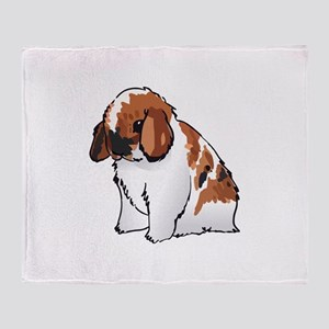 HOLLAND LOP EAR RABBIT Throw Blanket