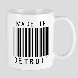 Detroit barcode Mugs