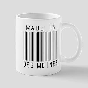 Des Moines barcode Mugs