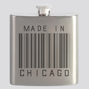 Chicago barcode Flask
