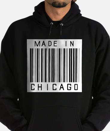 Chicago barcode Hoodie