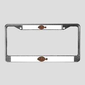 Summer Flounder License Plate Frame