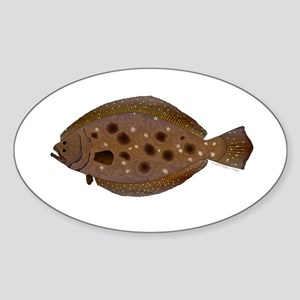 Summer Flounder Sticker