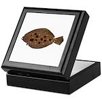 Summer Flounder Keepsake Box