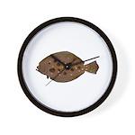 Summer Flounder Wall Clock